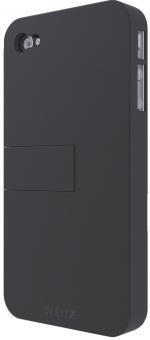 Carcasa LEITZ Complete, cu stativ pentru iPhone 4/4S - negru