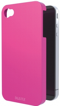 Carcasa LEITZ Complete Wow, pentru iPhone 4/4S - roz metalizat