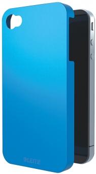 Carcasa LEITZ Complete Wow, pentru iPhone 4/4S - albastru metalizat