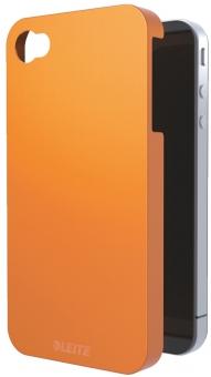 Carcasa LEITZ Complete Wow, pentru iPhone 4/4S - portocaliu metalizat