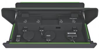 Incarcator multifunctional LEITZ Complete, pentru echipamente mobile - negru