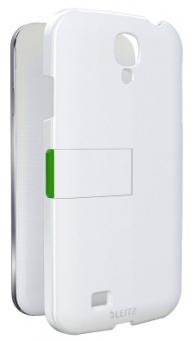 Carcasa LEITZ Complete, cu stativ pentru Samsung Galaxy S4 - alb