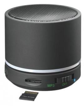 Mini-difuzor portabil LEITZ Complete, cu Bluetooth - negru