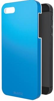 Carcasa LEITZ Complete Wow, pentru iPhone 5/5S - albastru metalizat