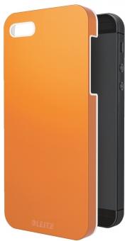 Carcasa LEITZ Complete Wow, pentru iPhone 5/5S - portocaliu metalizat