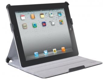 Carcasa LEITZ Complete Smart Grip, cu capac pentru iPad Gen. 3/4 / iPad 2 - negru