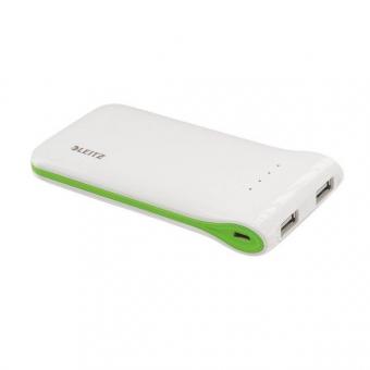 Incarcator portabil LEITZ Complete, cu USB - alb
