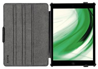 Carcasa LEITZ Complete Smart Grip, cu capac pentru iPad Air - negru